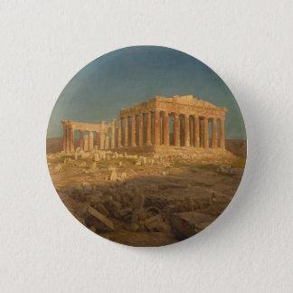 Der Parthenon Runder Button 5,7 Cm
