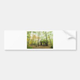 Der Pavillon im Wald Autoaufkleber