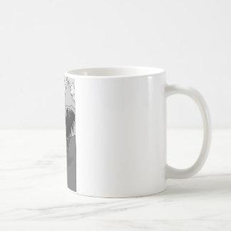 Der Pegasus (b&w) Kaffeetasse