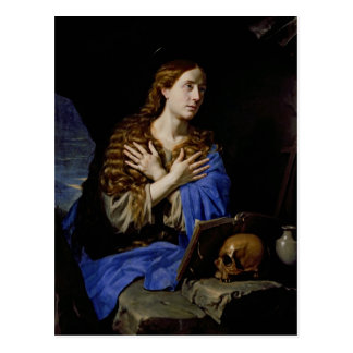 Der Penitent Magdalene, 1657 Postkarten