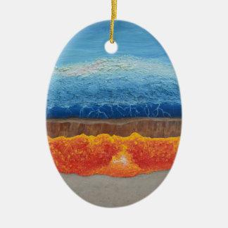 Der perfekte Sturm Keramik Ornament