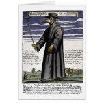 Der Pest-Doktor Grußkarte