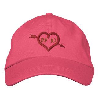 Der Pfeil-Valentinsgruß des Amors Bestickte Kappe