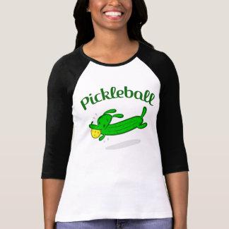 Der Pickleball der Frauen 3/4 Hülse Jersey T-Shirt