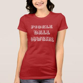 """Der Pickleball der Frauen T - Shirt: """"PICKLEBALL T-Shirt"""