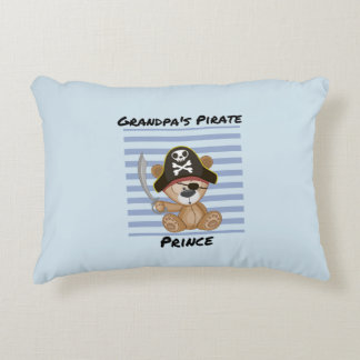 Der Piraten-Prinz Brushed Polyester des Großvaters Dekokissen