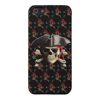 Der Piratenflagge-Piraten-Schädel iPhone 5 Hülle
