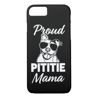 Der Pitbull stolzer Pittie Mutterfrauen iPhone 8/7 Hülle