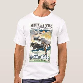 Der Planwagen Vintage 1923 filmen Plakat T - Shirt