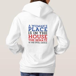 Der Platz einer Frau ist im Haus Hoodie