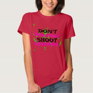 Der politische Protest-Aktivist schießen nicht Shirts