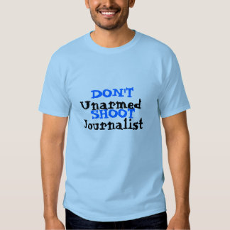 Der politische Protest-Aktivist schießen nicht Tshirt