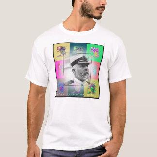 Der Pop-Kunst-Kapitän Smith vom titanischen T-Shirt
