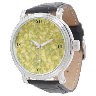 Der Power der Blumenblätter Armbanduhr