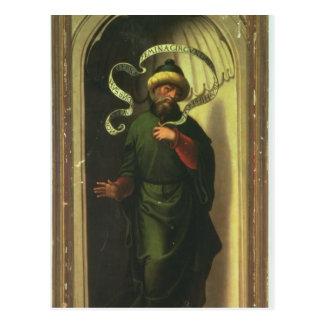 Der Prophet Habakkuk Postkarte