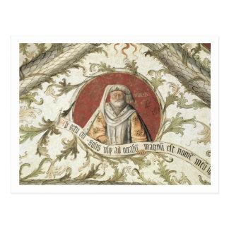 Der Prophet Malachi, vom Loggia d'Annunciazio Postkarte