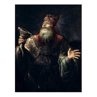 Der Prophet Samuel Postkarte