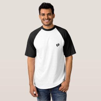 Der Raglan-Abdruck-T - Shirt der Männer