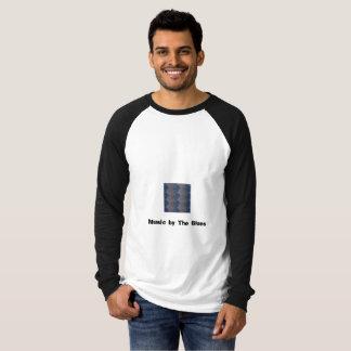 Der Raglan-langes Hülsen-T-Shirt der Männer mit T-Shirt