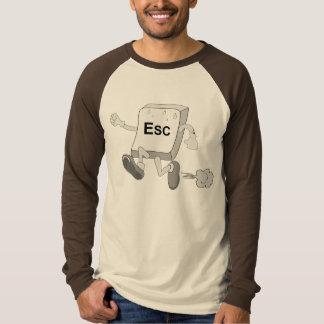 Der Raglan Schlüsselfiguren ESC T-Shirt