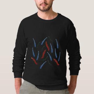 Der Raglan-Sweatshirt der Niederlassungs-Männer Sweatshirt