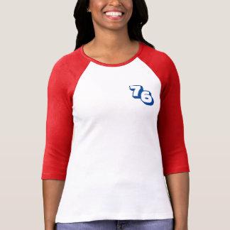 Der Raglan-T - Shirt der Frauen des Jahr-1976