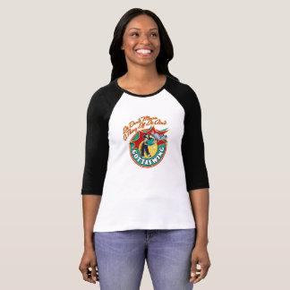 Der Raglan-T-Shirt der Frauen T-Shirt