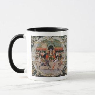 Der Raub des Sabines c.1490 Tasse
