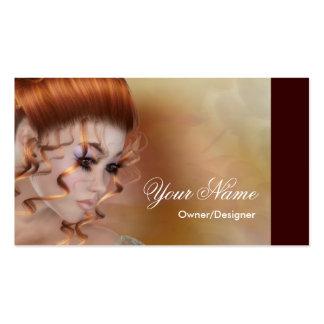 Der Redhead - Fantasie-/Schönheits-Visitenkarten