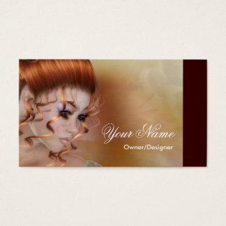 Der Redhead - Fantasie-/Schönheits-Visitenkarten Visitenkarten