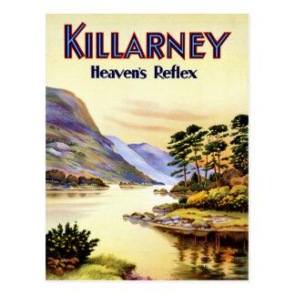 Der Reflex Killarney ~ Himmels Postkarte