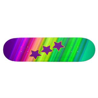 Der Regenbogen 20,6 Cm Skateboard Deck