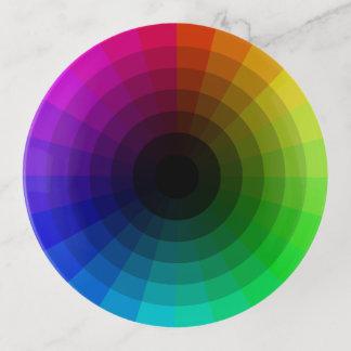 Der Regenbogen des Designers Dekoschale