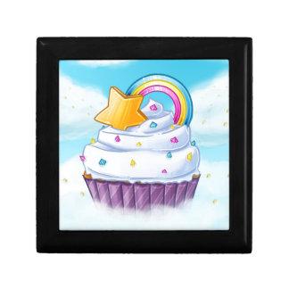 Der Regenbogenkleine kuchen Geschenkbox