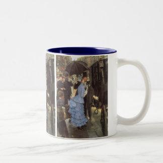 Der Reisende (alias Brautjungfer) durch James Zweifarbige Tasse