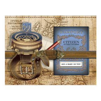 Der Reisende Postkarte