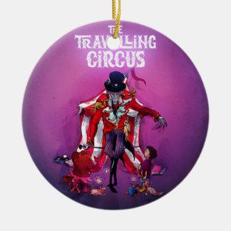Der reisende Zirkus Keramik Ornament