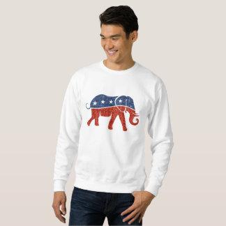 der republikanischen das Sweatshirt Elefant-Männer