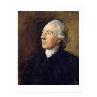 Der Rev. Humphrey Gainsborough, c.1770-4 (Öl auf c Postkarte