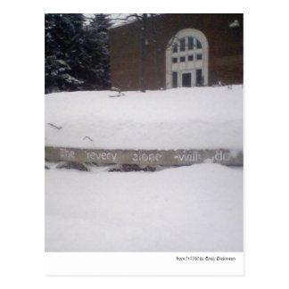 """Der Revery allein tut…"" --Emily Dickinson Postkarte"