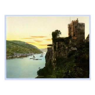Der Rhein Deutschland Postkarte