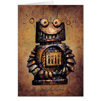 Der Roboter-alles Gute zum Geburtstag des Grußkarte