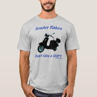 Der Roller-Reiter-T - Shirt der Männer