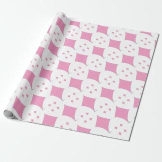 der rosa Diamant Geschenkpapier