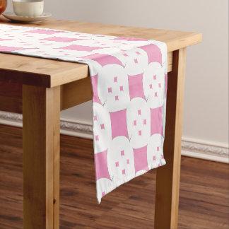 der rosa Diamant Kurzer Tischläufer