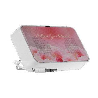 Der rosa Tag der Rosen-Mutter iPhone Lautsprecher