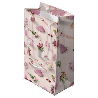 Der rosa Traum des Mädchens Kleine Geschenktüte