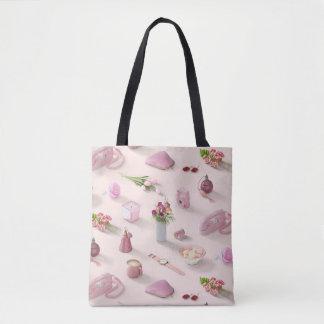 Der rosa Traum des Mädchens Tasche