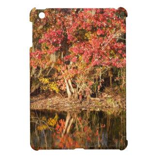 Der rote Baum am Sonnenuntergang iPad Mini Hülle