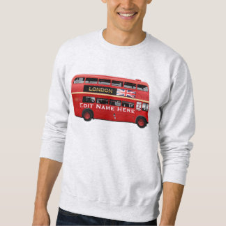 Der rote London-Bus Sweatshirt